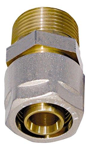 Sistema de tuber/ías de tubo compuesto flexible de varias capas 25 m WIROFLEX DVGW 16 x 2 mm