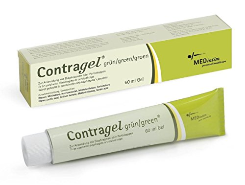 New&genuine Vegan Contragel Green Contraceptive Gel (2tube)