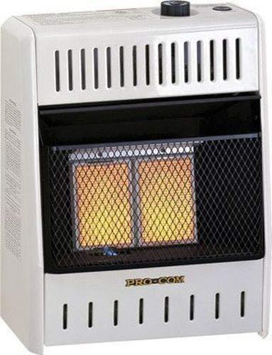 In Liquid Heater Propane Built - ProCom Radiant Vent-Free Heater - Liquid Propane 10,000 BTU, Model# ML100HPA