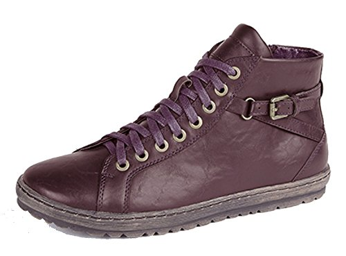 Boulevard Ladies CIPRIATA Lace to Toe Ankle Boot with Inside Zip Burgundy eG80j29KqG