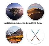 Macintosh OS X Installer Upgrade- Catalina (OS X.15), Mojave (OS X.14), HIGH Sierra (OS X.13) & El Captain (OS X.11) Quad Bootable USB Flash Drive USB Repair Disk