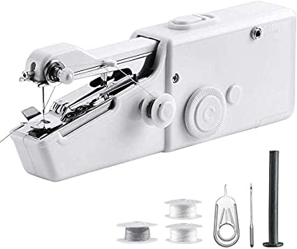Home Portable Mini Hand Sewing Machine Outdoor Travel Pocket Sewing Machine/£/¬