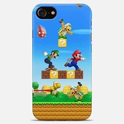 Amazon com: Inspired by Mario phone case Mario iPhone case 7 plus X
