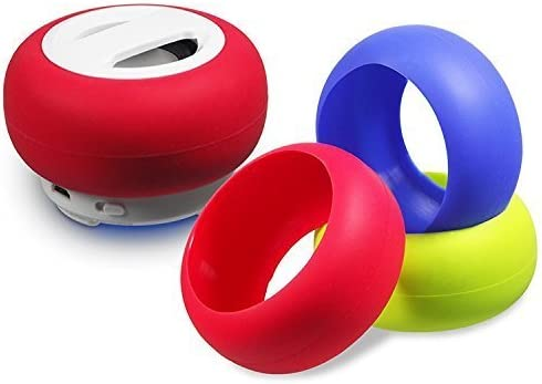Portable Bluetooth Speaker – BLUE – External Cell Phone, Tablet, Laptop or Computer Speaker