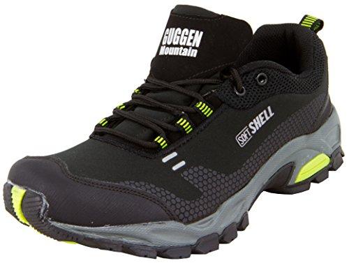 Guggen Montagne Escalade Bottes Plein De Alpinisme Chaussures Noir T001 vert Air Trekking Softshell En Randonne SqSIrxnwZ