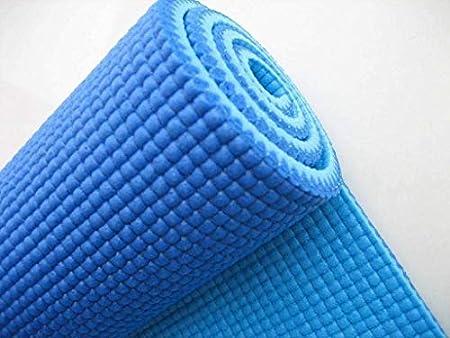 Shreeji Ethnic Fitness Textured Pattern, Anti Skid Non Slip Yoga Mat for Men & Women with Bag Yoga Mat for Exercise, Yoga mats for Women, Yoga mats for Men, mat for Exercise
