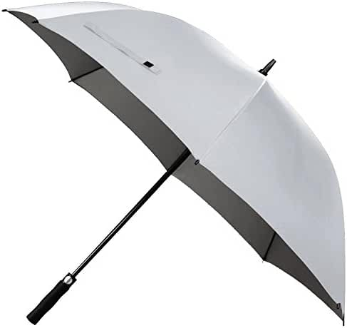 Rainlax Windproof Golf Umbrella 62 inch Oversize Canopy Automatic Open Large Outdoor Golf umbrella Rain&Wind Repellent Sun Protection Stick Umbrellas