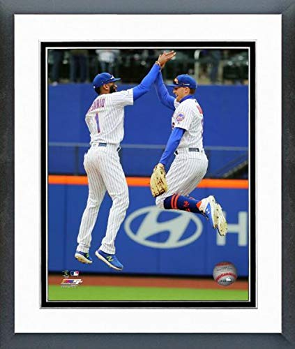 Amed Rosario & Brandon Nimmo New York Mets 2019 MLB Action Photo (Size: 12.5