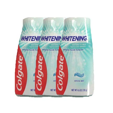 Colgate Whitening, Crystal Mint, Liquid Toothpaste, 4.6-Ounce (3 Count)
