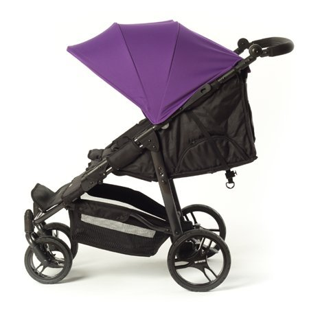 Baby Monsters - Bolso cambiador para la silla de paseo Easy Twin, color negro Morado