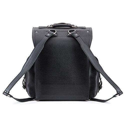Saddleback Leather Squared Backpack - Best Backpack for School, Business, Travel - 100 Year Warranty by Saddleback Leather Co. (Image #3)