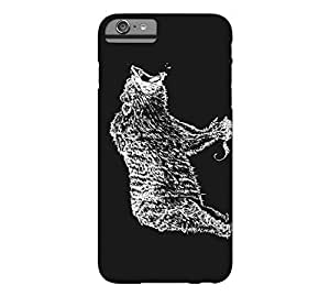 Angry Bear iPhone 6 Plus Black Barely There Phone Case - Design By FSKcase?