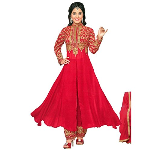 Bollywood Wedding Embroidered Ready made Salwar Kameez Indian – 0X, Red
