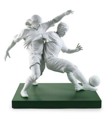 Lladro Champions Team Soccer Figurine by Lladro
