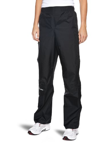 Berghaus Women's Deluge Waterproof Overpants, Jet Black, Size 16/Long from Berghaus