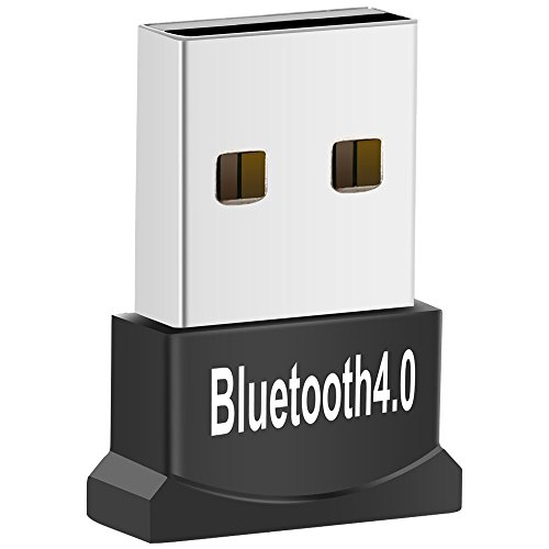 USB Bluetooth Adapter for PC, Zexmte Bluetooth 4.0 USB Adapter Wireless Dongle Adapter Compatible with PC Desktop and Computer with Windows 10 8.1 8 7 Vista XP