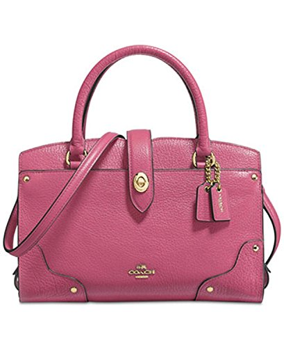 COACH Mercer Satchel 24 in Grain Leather by Coach