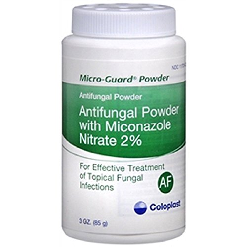 - Micro-Guard - Antifungal - 2% Strength - Powder - 3 oz. - Shaker Bottle - 12/Case - McK