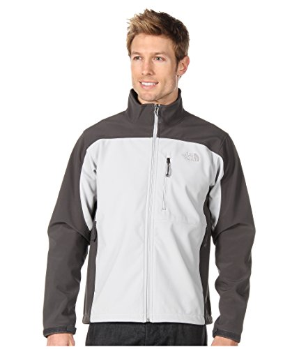 The North Face Mens Apex Bionic Jacket High Rise Grey/Asphalt Grey LG