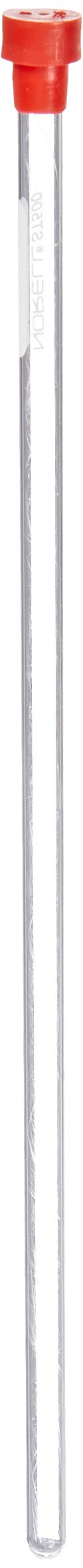 Chemglass Norell C-ST550-7 Type 1 Class B Glass Standard Series NMR Tube with Cap, 100 MHz, 7'' Long (Pack of 5) by Chemglass (Image #1)
