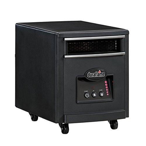 Duraflame 7HM1000 Black Portable Electric Infrared Quartz...