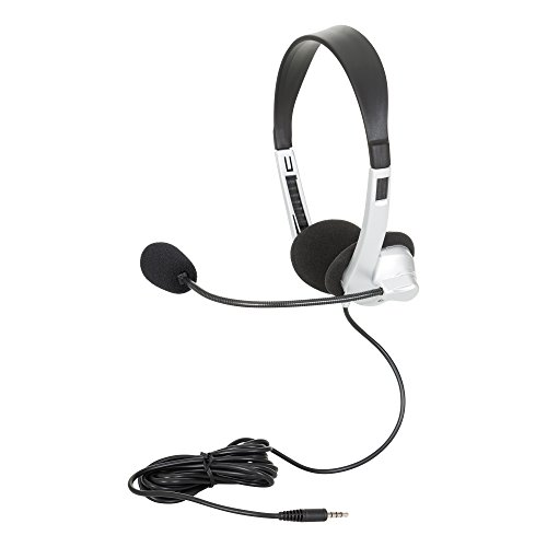 Egghead EGG-IAG-1007TRSS-SO Mobile-Ready Stereo Headsets with Boom Microphone