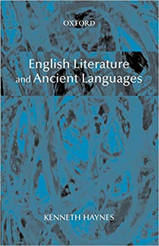 English Literature and Ancient Languages