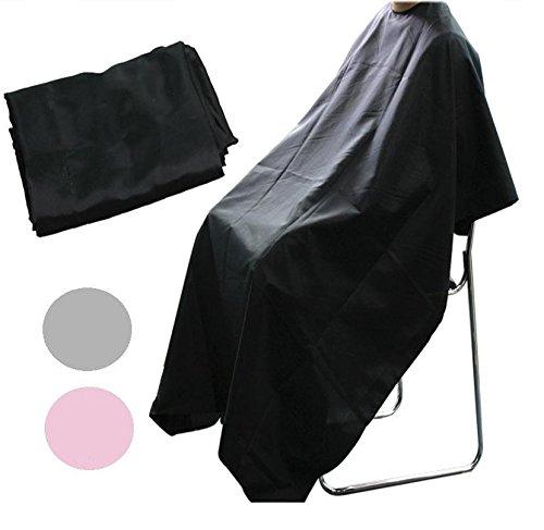 Blouse unisexe de salon de coiffure/barbier Noir