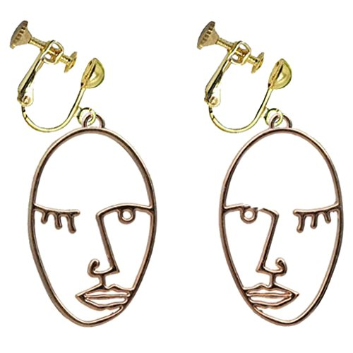 Clip On Abstract Face...