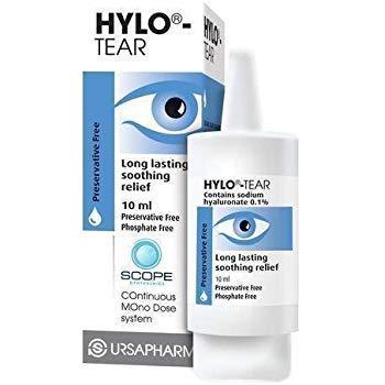 Hylo Tear 10ML - Lubricating Eye Drop Eye Sensation - 10ML