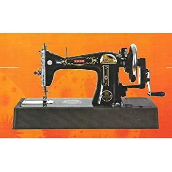 Usha Tailor Sewing Machine with HA and Base, Black