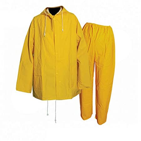 Silverline Rain Suit Yellow 2pce M 72-126cm (28-50) 245058