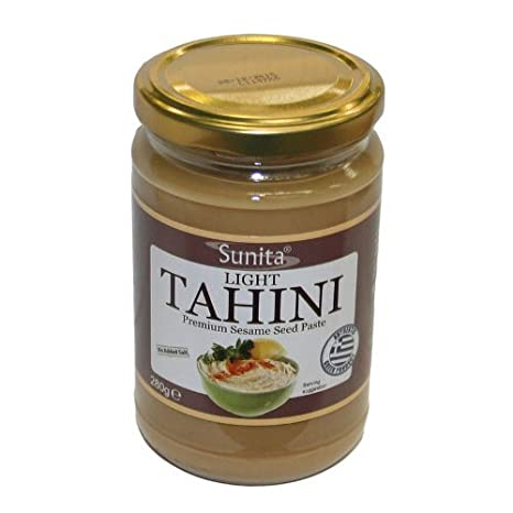 Sunita Light Tahini No Added Salt 280 g (Pack of 6): Amazon.es: Alimentación y bebidas