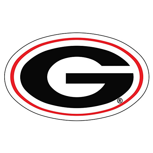 Car Georgia 12' Bulldog Bulldogs (Georgia Bulldogs Decal OVAL G DECAL 3
