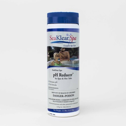 Outdoor SeaKlear Spa pH Reducer for Spas, 2.5 lb, Model: 1140405, Garden Store, Repair & Hardware