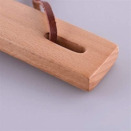 軽量 ビーチショートハンドル靴ホーン快適な靴リフター用レディースメンズ 耐用 (Color : Wood, Size : 26*3.5cm)