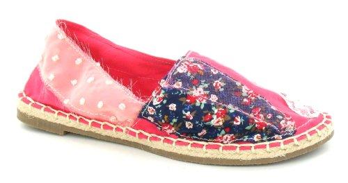 651e9a3dd7e737 Spot Shoe Espadrille On Flat Lace Floral Fuchsia 0COw0grq8x