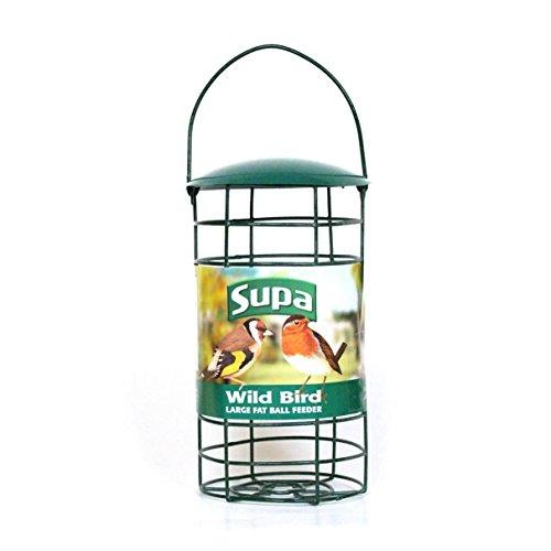 Fat Balls Wild Bird (Supa Fat Ball Bird Feeder (8in) (Green))