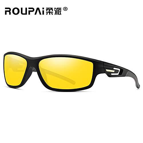 Gafas Gafas sunglasses Mjia al Azul 1 Marco de Deportivas de box Montar Gafas Libre de Nocturna visión polarizadas conducción Black Sol Gafas Deportiva Hombre Aire de Sol fIA5wqrx5