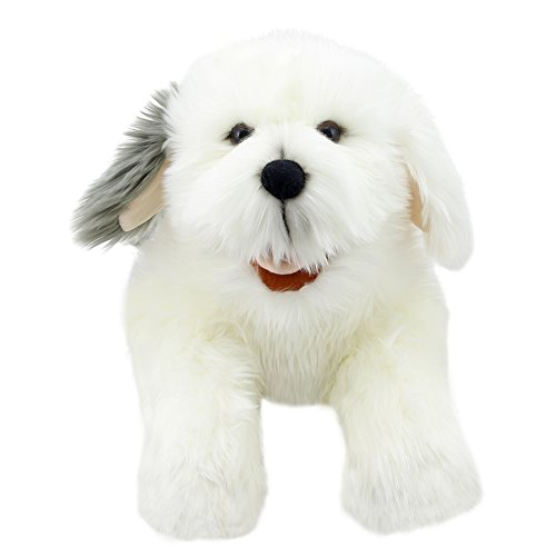 The Puppet Company Playful Puppies Old English Sheepdog Hand Puppet ()