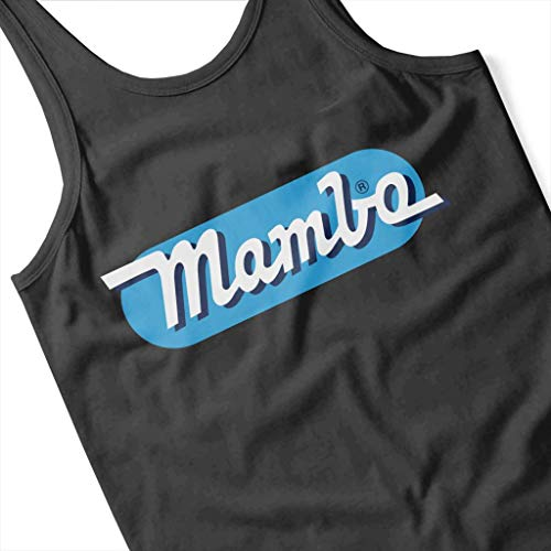 Light Vest Logo Black Blue Oblong Mambo Retro Women's vHTx5qxAw