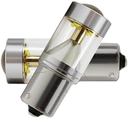 「9G-BA15S-WHITEX2」HONDA シティ(Minor後) S63.10~H6.3 GA バック[BA15S] LED BA15S 白 12V24V SDM便