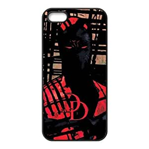 Daredevil Hides In The Shadows Iphone 5 5S Cell Phone Case Black SEJ6563033069252