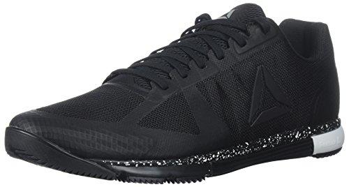 - Reebok Men's Speed TR 2.0 Sneaker, Black/White, 10.5 M US