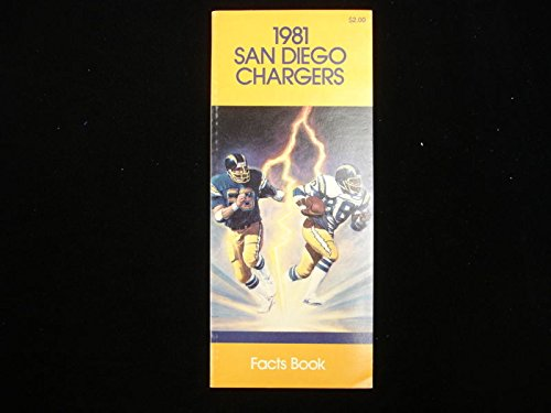 1981 San Diego Chargers NFL Media