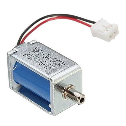 mark8shop DC3 V Válvula de solenoide válvula de flujo válvula de escape Tensiómetro electrónico