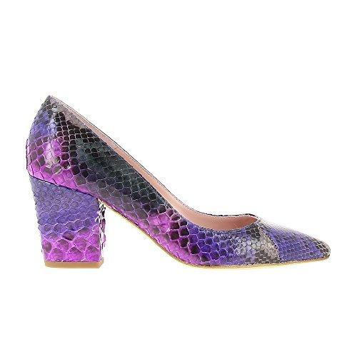 Paris Genuino 7cm Multicolor Piton Marilo 39 Zapato Dominguez Mld OxEUwEa6Tq