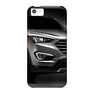Tpu AnnetteL Shockproof Scratcheproof Hyundai Santa Fe 2013 Hard Case Cover For Iphone 5c