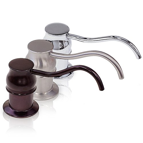 FREUER Faucets Countertop/Sink Mount Soap Pump Dispenser, Oil Rubbed Bronze