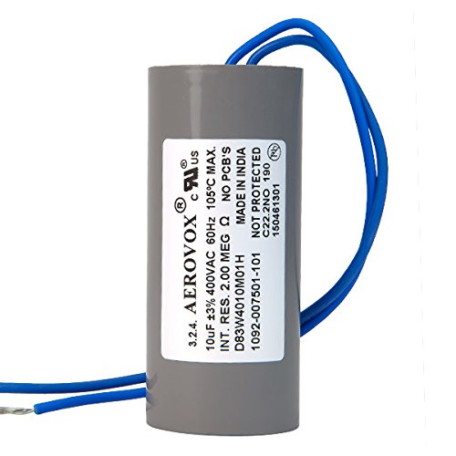 400VAC Dry HID Lighting Capacitor 10 Microfarads Aerovox D83W4010M01H Review